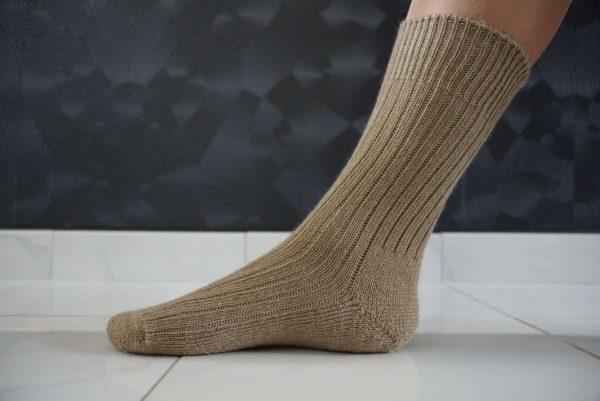 Warme Mohairsocken für den Winter oder wenn Sie nur kalte Füße haben. Wirklich gut als Haussocken.