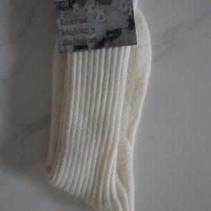 Weiße Softtopstrümpfe