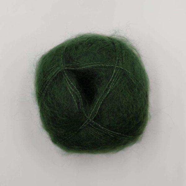 brushed lace mohairgarn flaskegrøn