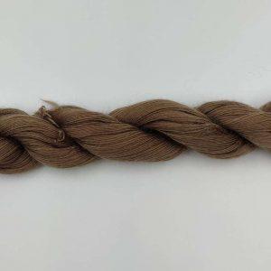 1 trådet kidmohair garn bark