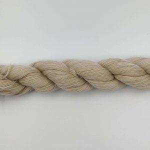 1 trådet kidmohair garn sand