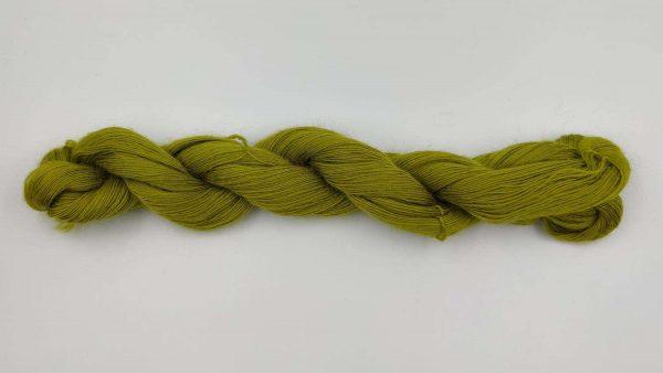 1 trådet kidmohair garn æblegrøn