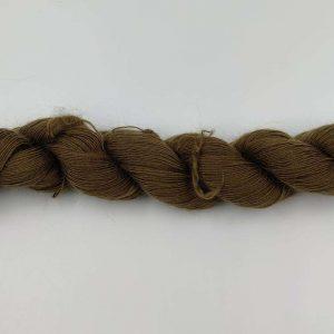 1 trådet kidmohair garn khaki