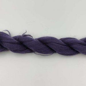 1 trådet kidmohair garn violet
