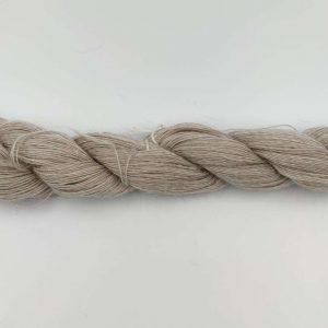 1 trådet kidmohair garn meleret beige