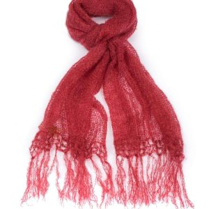 Schal,Burnt red