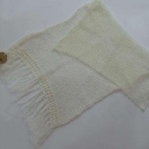 Schal,Hvid