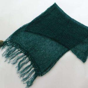 Schal,Mørk grøn
