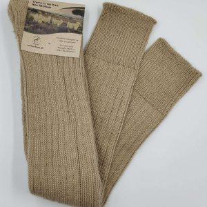 Lange jægerstrømper, tykke sokker af mohair