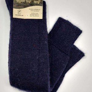 Lange skistrømper, meget tykke sokker af mohair
