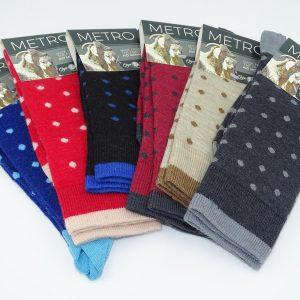 Metro socks stroemper farve udvalg